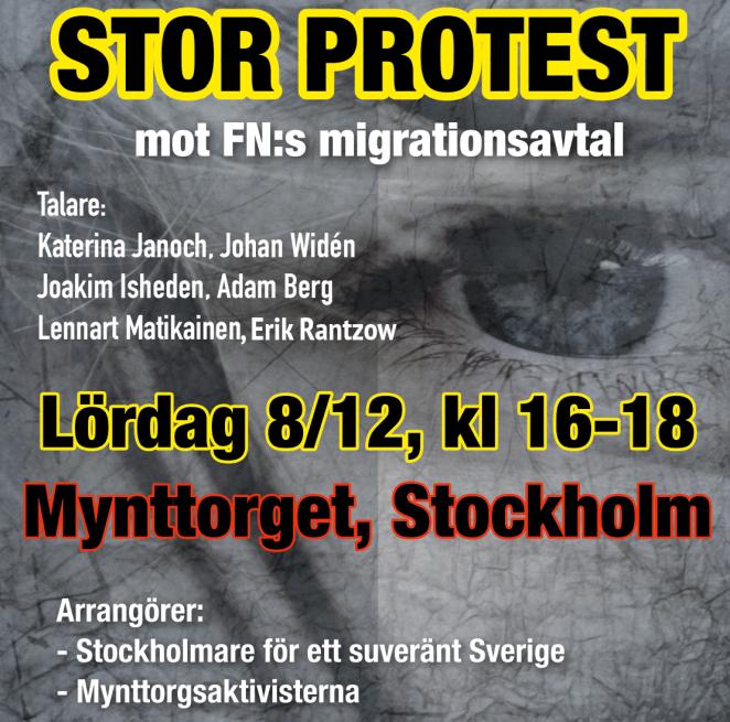 mynttorget-protest